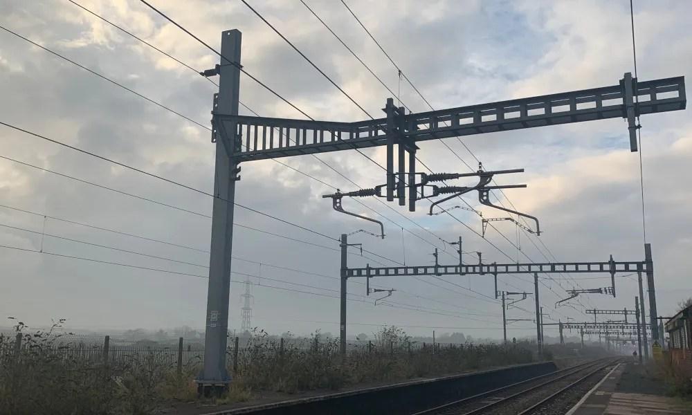 Pilnin station, between Bristol and Cardiff at Pilning