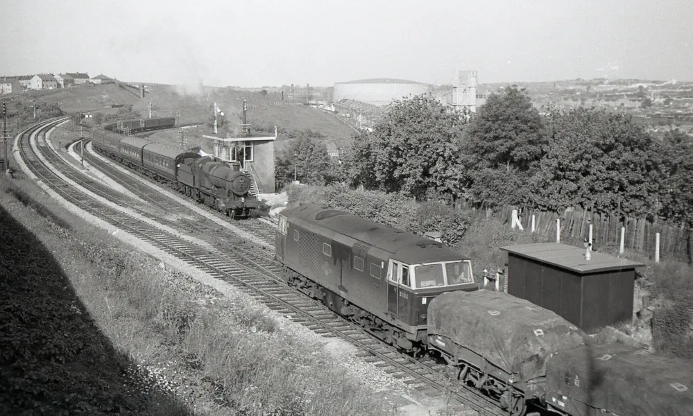 Ashley Hill Junction, early 1960s