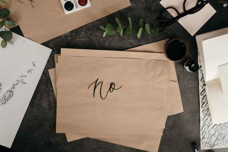 brown paper with handwritten text
