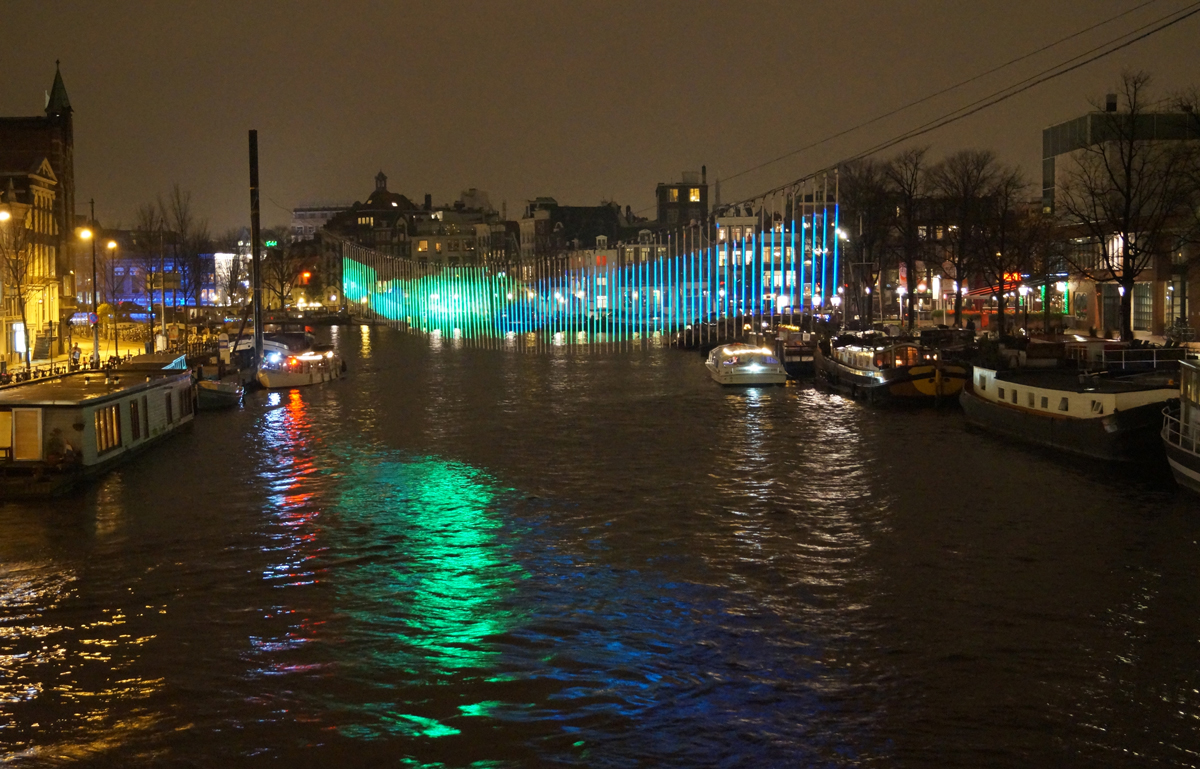 Verlichting Festival Amsterdam Lichtkunst Northern Lights Amsterdam Light Festival Fosfordesign Nl