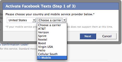 FacebookText