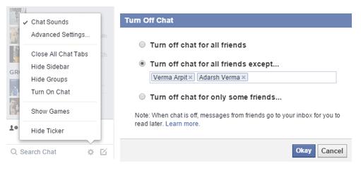 LimitChatFacebook