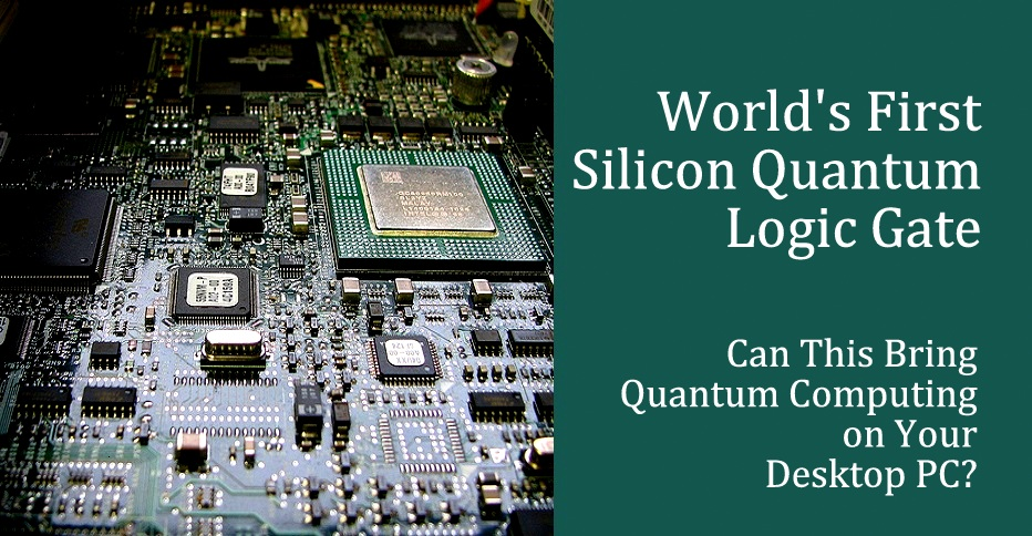 Image result for silicon quantum computing