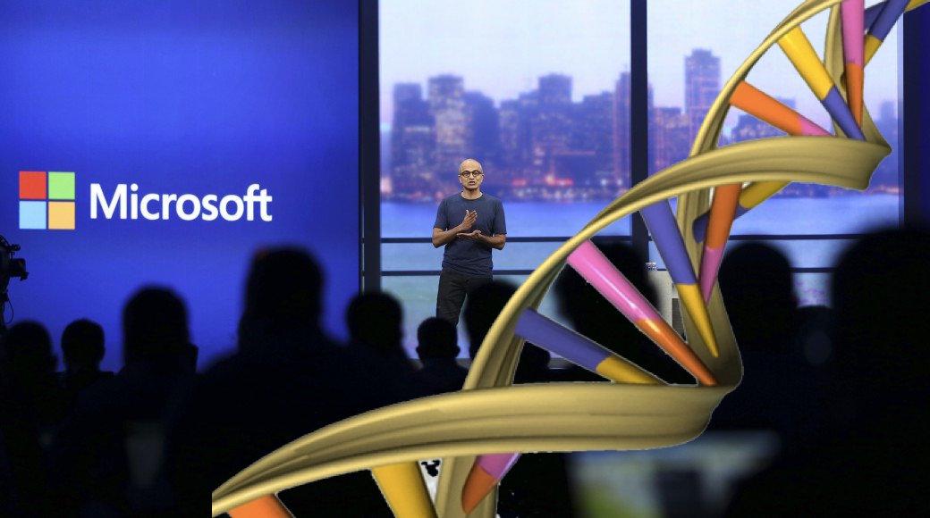Microsoft Working On DNA Storage 1000000000 TB Data