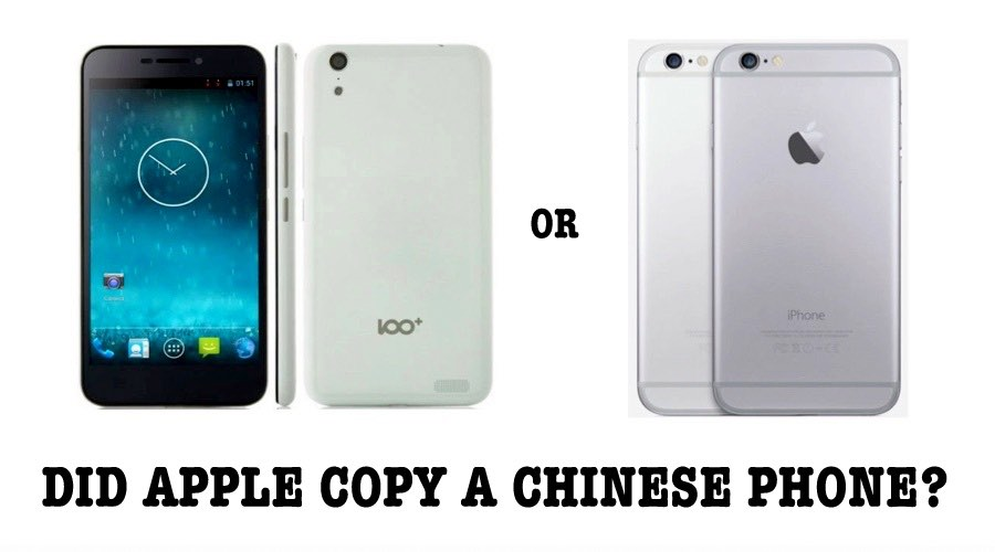 Apple Copied IPhone 6 Design From A Chinese Smartphone