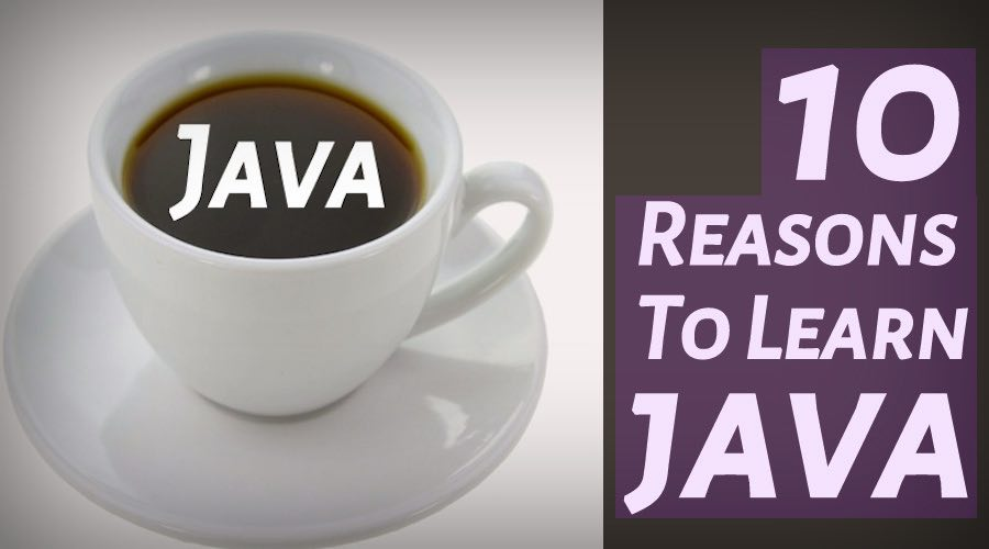 reasons to learn java programming language