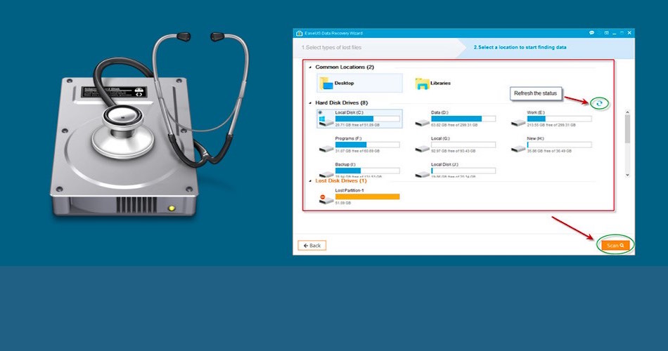 EaseUS Data Recovery Wizard – the world's top data recovery software