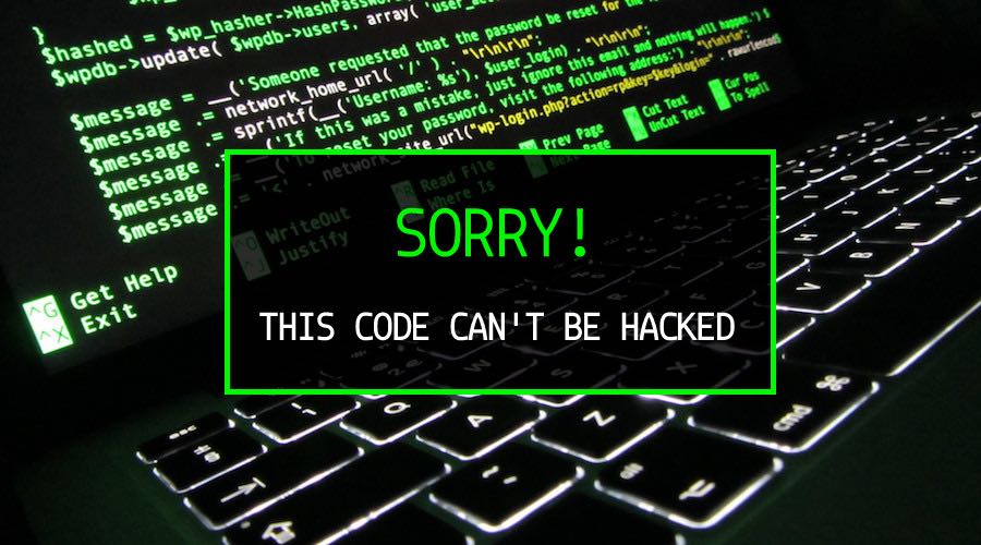hack-proof-code