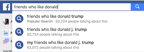 Facebook's Search Engine