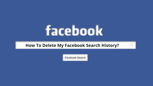 Delete Facebook Search History Main