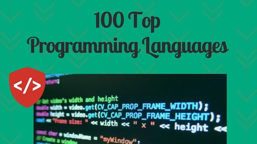 100 Most Popular Programming Languages Of 2017