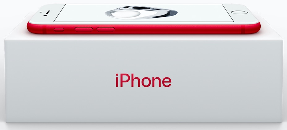 red iphone 7 apple