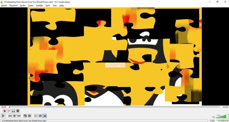JigsawPuzzle-VLC Tricks