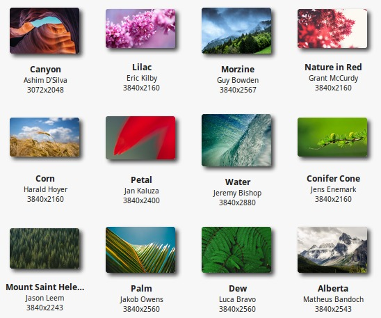Linux Mint 18.2 Backgrounds