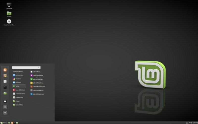 Linux Mint 18.2 Desktop