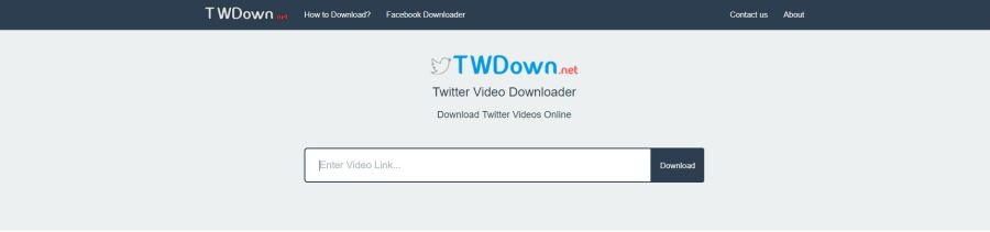 TWDown Download Twitter Videos
