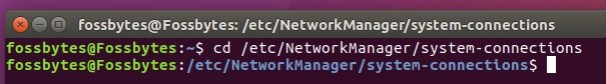 wifi network password ubuntu