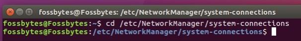 wifi network password ubuntu