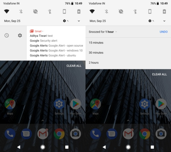 Hidden Features Android Oreo 5
