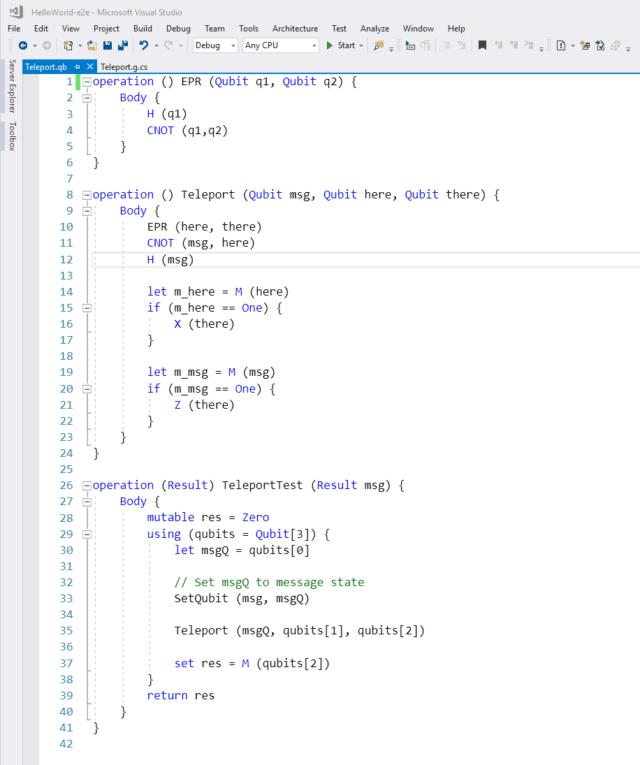 """Microsoft Meluncurkan """"Bahasa Pemrograman untuk Komputer Quantum"""""""