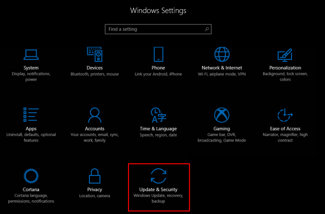 Control bandwidth Windows Update 1