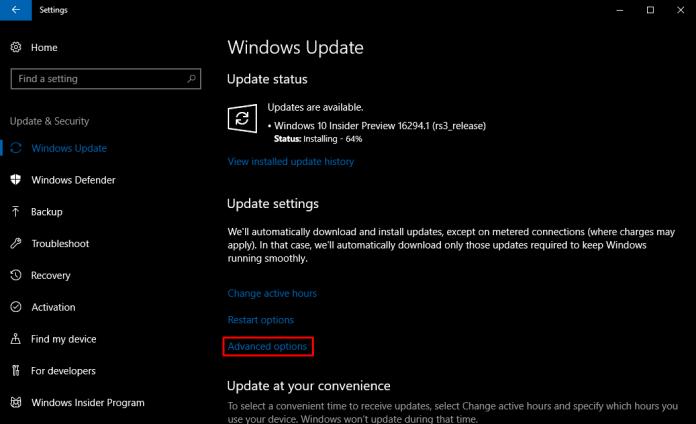 Cara Batasi Kecepatan Download Windows Update Menggunakan Pengaturan Tersembunyi ini