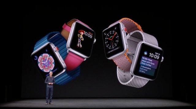 """Apple luncurkan Watch Series 3 dengan """"SIM Elektronik"""" didalamnya"""