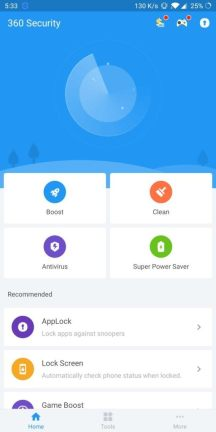 360 Security Antivirus app