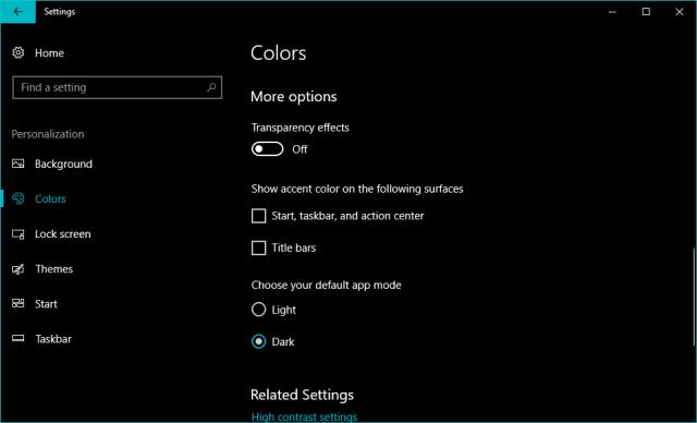 Cara Nonaktifkan Efek Fluent Desain di Windows 10