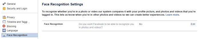 Cara Menonaktifkan Face Recognition Facebook Di App dan PC?