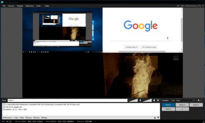 Software Perekaman Layar Terbaik Windows 7 XSplit