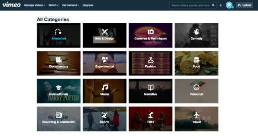 Vimeo 20 sites de téléchargement de films gratuits