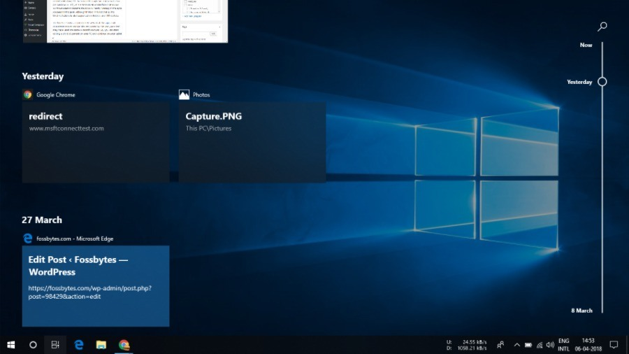 Windows 10 April 2018 Update Features Whats New In The