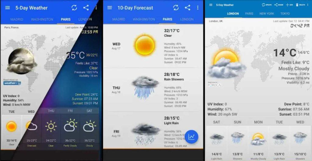 10 Best Android Weather App And Widget List | 2018 Edition – CrackWare