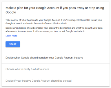 Delete Google Account After Death 3