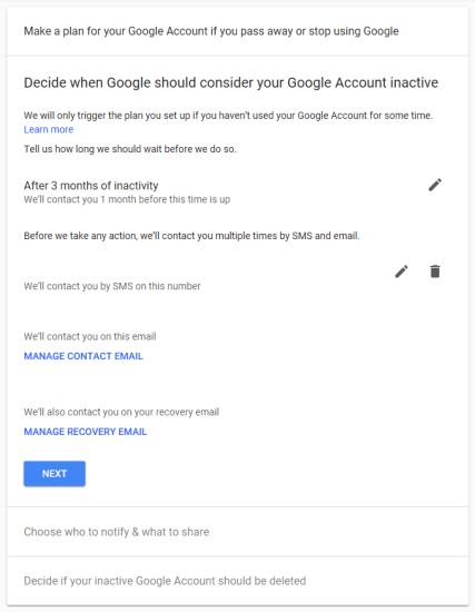 Delete Google Account After Death 4