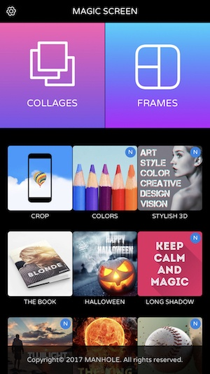 7. Magic Screen – Best App to Create Your Own Wallpaper
