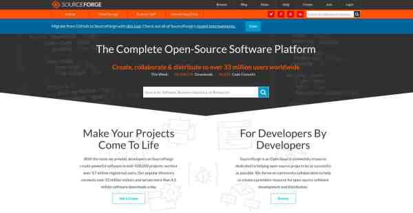 Sourceforge Alternatives And Similar Websites Apps - Year of