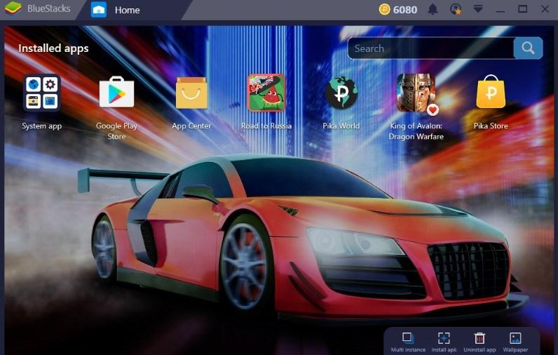 Emulator Android Teratas - BlueStacks
