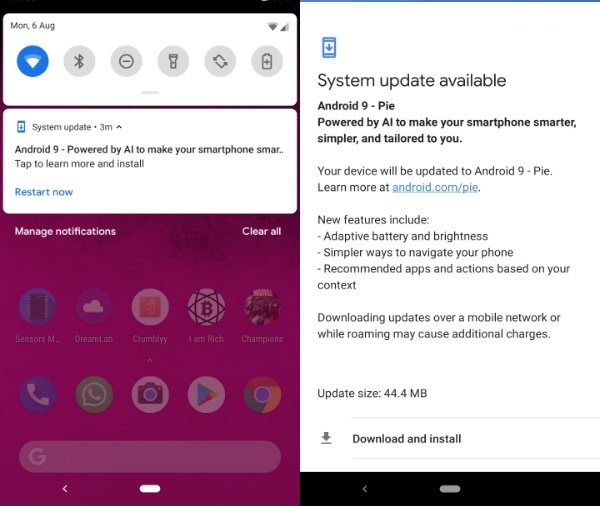 Android 9 Pie Akhirnya Dirilis: Dapatkan Sekarang Juga