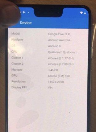 spesifikasi piksel google 3