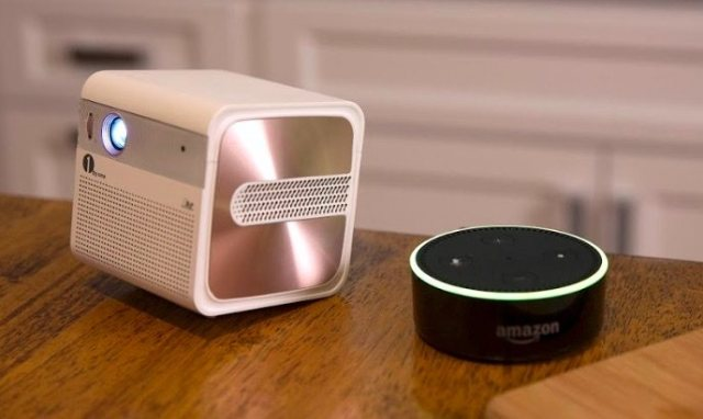 gosho mini hd projector with echo