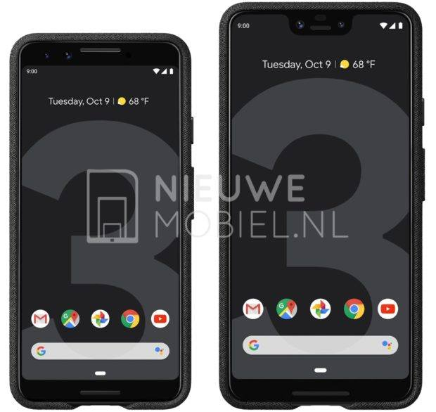 Google Pixel 3 dan Pixel 3 XL Terungkap: Set Baru di Press Renders Resmi