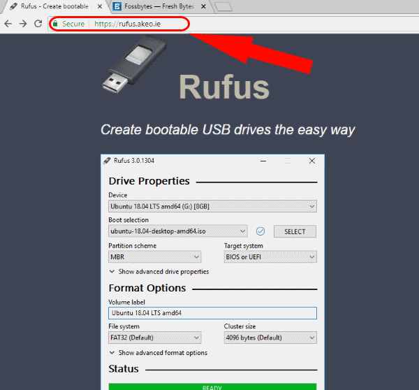 how to create a boot usb