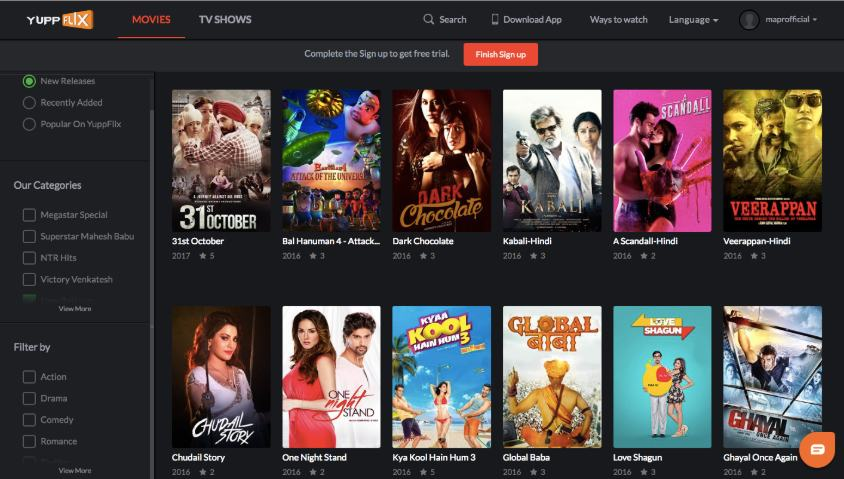 best website to watch hindi movies online free