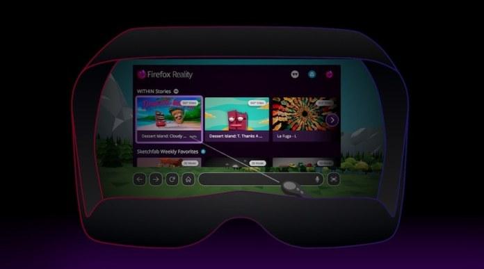 Mozilla Luncurkan Web Browser Reality Firefox Untuk Headset VR
