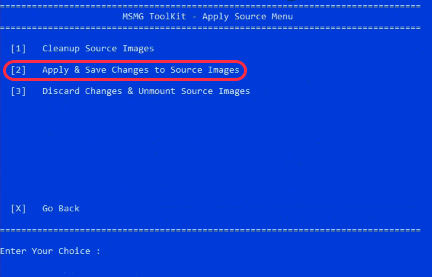 Windows 10 Bloatware Removal tool Apply to Source