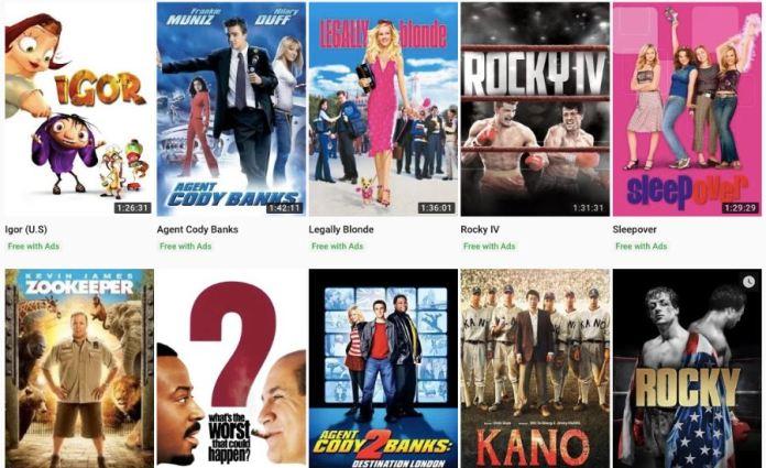youtube free movies