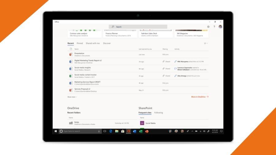 Kantor Baru Windows 10 3