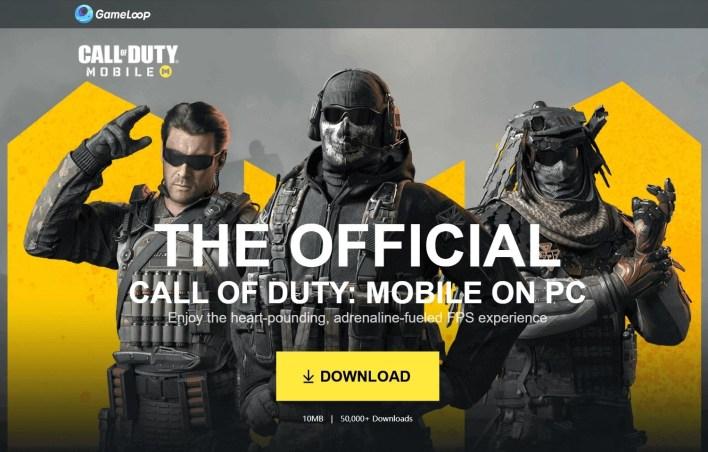 Call of Duty Mobile على جهاز الكمبيوتر